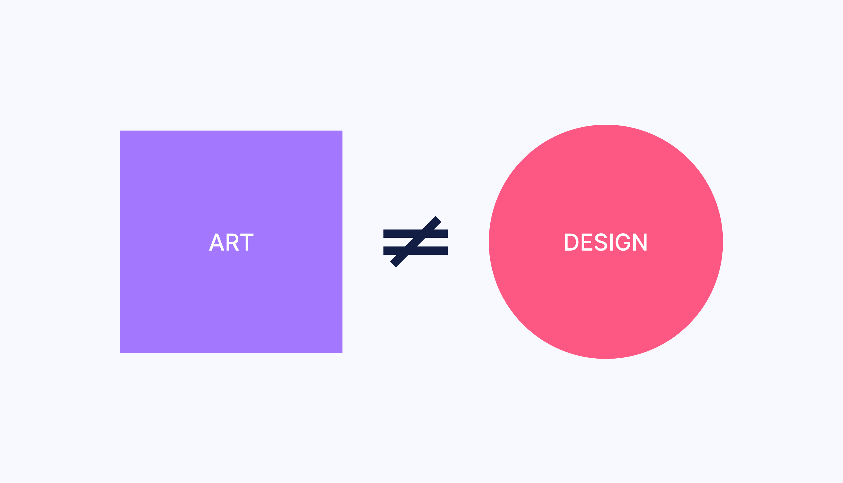 Art vs. Design